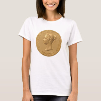 Queen Victoria Coin T-Shirt