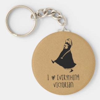 Queen Victoria Keychain