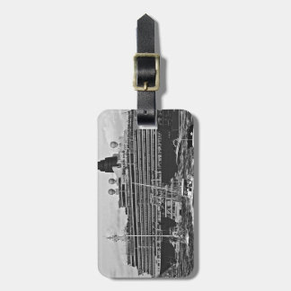 Queen Victoria Luggage Tag
