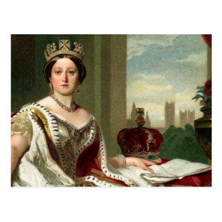Queen Victoria Portrait Postcards
