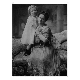 Queen Wilhelmina & Juliana of The Netherlands Postcard