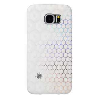 QueenBee in Colorfull Honeycomb Samsung Galaxy S6 Cases