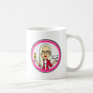 QueenBeeing Mug by Angie Atkinson