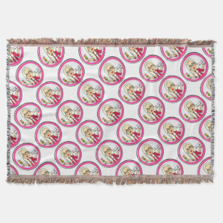 QueenBeeing Table Setup Throw Blanket