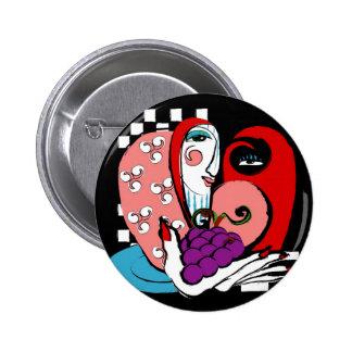 queenie 2 inch round button