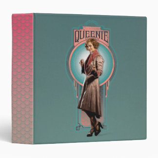 Queenie Goldstein Art Deco Panel Binders