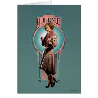 Queenie Goldstein Art Deco Panel Card