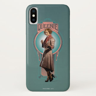 Queenie Goldstein Art Deco Panel iPhone X Case