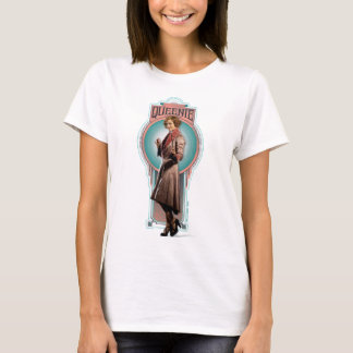 Queenie Goldstein Art Deco Panel T-Shirt