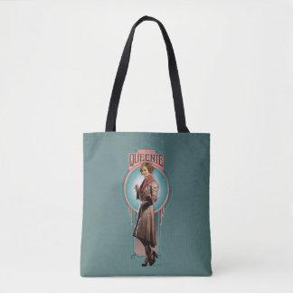 Queenie Goldstein Art Deco Panel Tote Bag