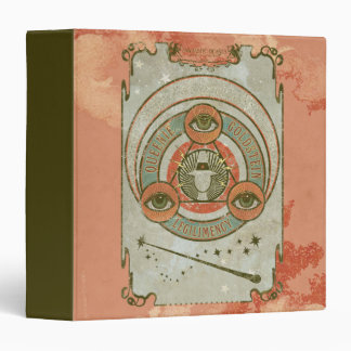Queenie Goldstein Legilimency Graphic 3 Ring Binders