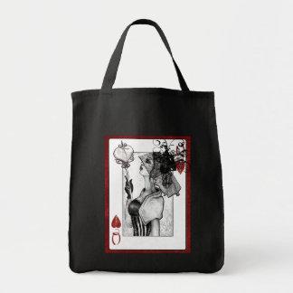 queenofhearts tote bag