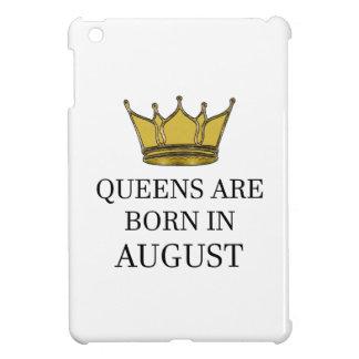 Queens Are Born In August iPad Mini Cover