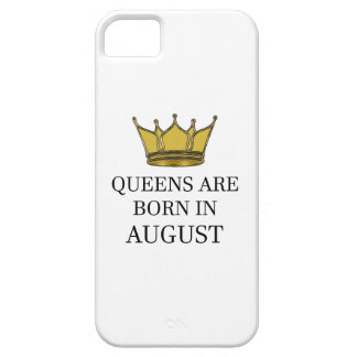 Queens Are Born In August iPhone 5 Cover
