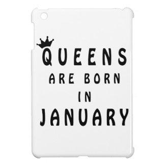 Queens Are Born In January iPad Mini Cover