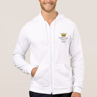 Queens Are Born In July Hoodie