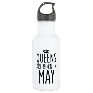 Queens are Born in May 532 Ml Water Bottle