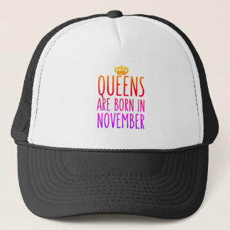 Queens are born in November Hat