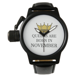 Queens Are Born In November Watch