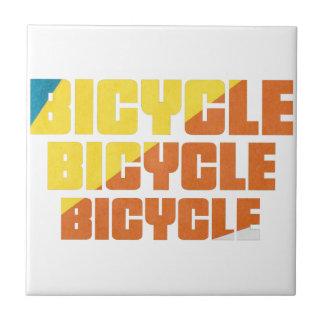 Queen's Bicycle Race Tile