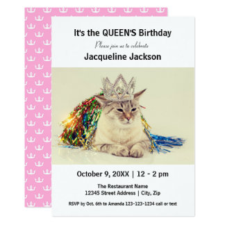 Queen's Birthday - Birthday Invitation