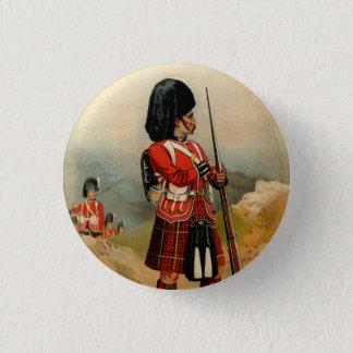 Queens Cameroon Highlanders 1 Inch Round Button