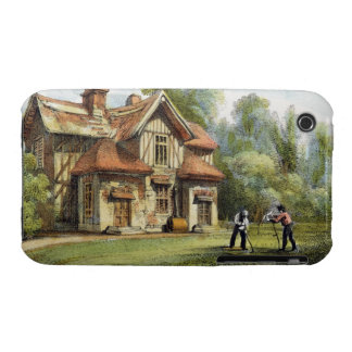 Queen's Cottage, Richmond Gardens, plate 17 from ' iPhone 3 Cover