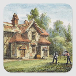 Queen's Cottage, Richmond Gardens, plate 17 from ' Square Sticker