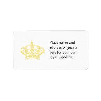 Queen's Crown in Gold