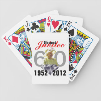 Queens Diamond Jubilee Playing Cards