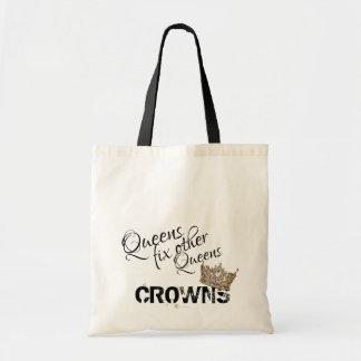 Queens fix other Queens Crowns Tote Bag