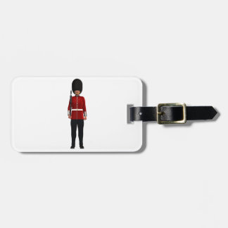 Queen's Guardsman Luggage Tag