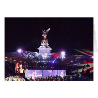 Queen's Jubilee Concert, London Card
