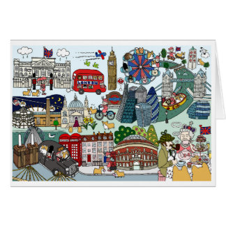 Queen's London Day Out Card