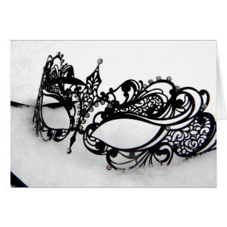 Queens Mask Card
