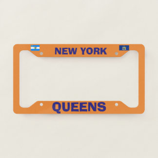 Queens New York License Plate Frame