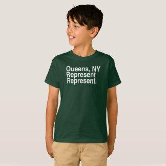 Queens NY Represent New York T-Shirt