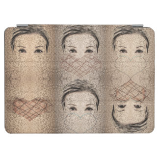 Queens of heart iPad air cover