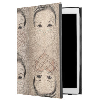 "Queens of heart iPad pro 12.9"" case"