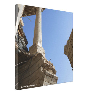 Queens Palace Afghanistan Canvas Print