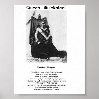 Queens Prayer Posters