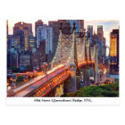 Queensboro Bridge, New York Postcard