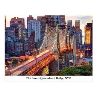 Queensboro Bridge, New York Postcard