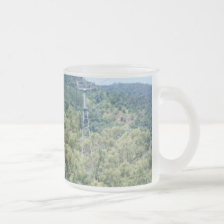 Queensland 10 Oz Frosted Glass Coffee Mug