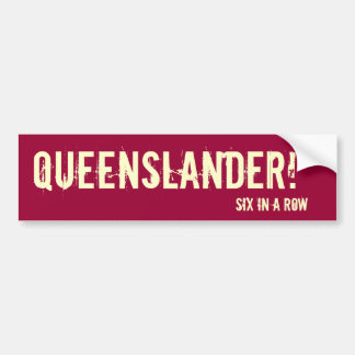 Queensland bumper sticker
