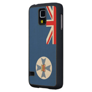 Queensland Flag Carved® Maple Galaxy S5 Case