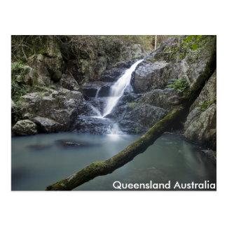 Queensland Waterfall Rock Pool Post Card