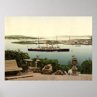 Queenstown Harbour, County Cork Poster