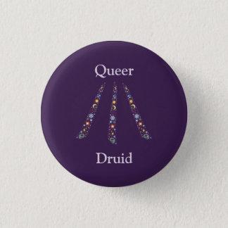 Queer Druid badge / 1 Inch Round Button