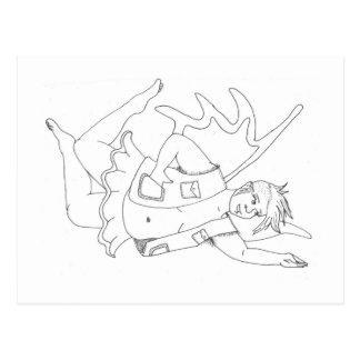 (queer) fairy postcard